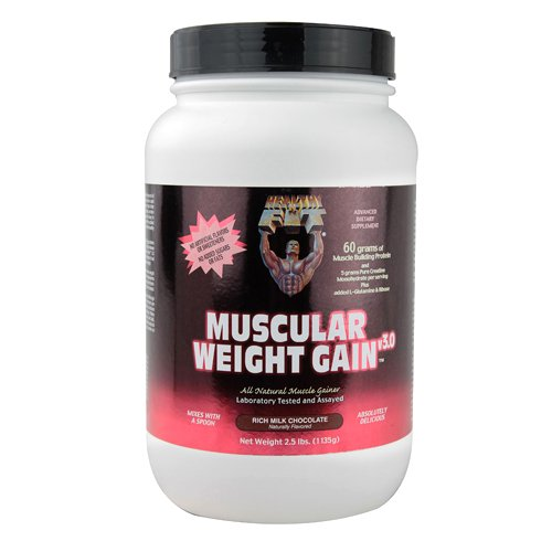 Healthy 'N Fit Muscular Weight Gain 3, Chocolate, 2.5 Pound