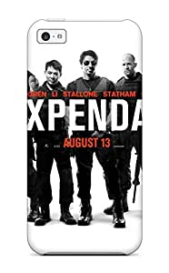 Alpha Analytical's Shop Hot Flexible Tpu Back Case Cover For Iphone 5c - The Expendables (2010) Movie