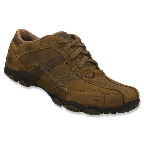 Skechers DiameterVassell 62607 BBK - Zapatillas fashion de cuero para hombre Braun (Dsch)