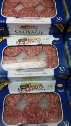 - Swaggerty's Premium Sausage 3 Lb.