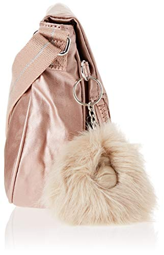 Tracolla Oro Borsa Blush Cm Donna S Kipling A Earthbeat 26x17x7 metallic qWw8Axw7IP