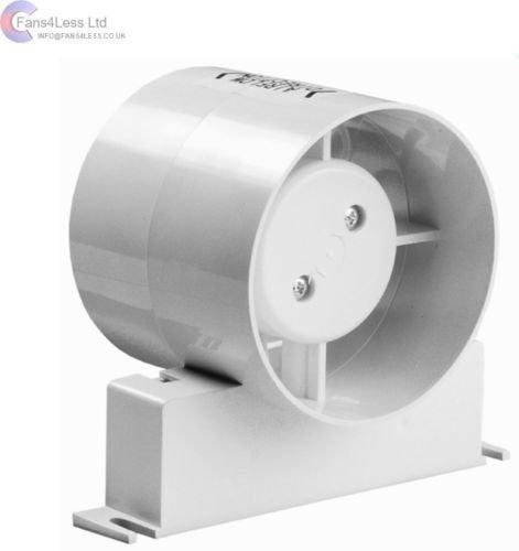 In Line Extractor Fans For Bathrooms: Airflow AVENTA 100B 100mm In-Line Fan: Amazon.co.uk: DIY