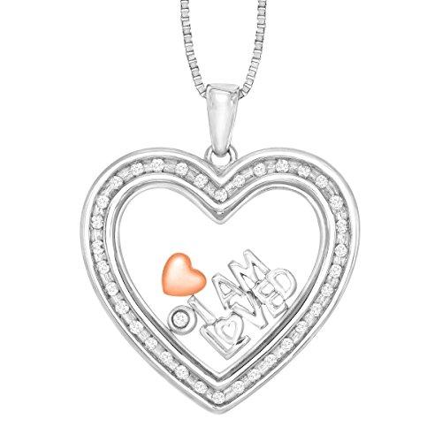 1/5 ct Diamond Heart