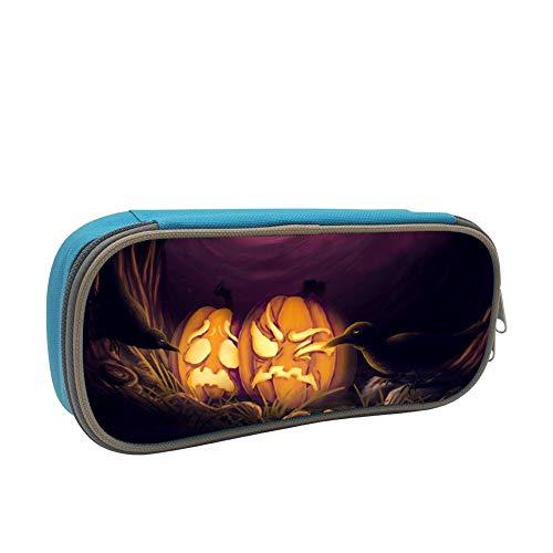 Pencil Case Poor Pumpkin Raven Pencil Bag Organizer Large Capacity -