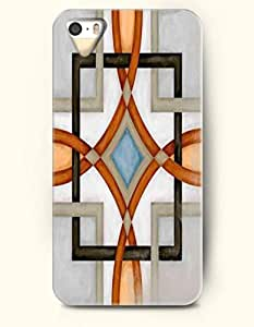 SevenArc Phone Cover Apple iPhone case for iPhone 4 4s -- Chinese Window Pattern - Beautiful Geometry