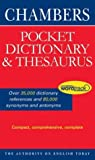 Chambers Pocket Dictionary and Thesaurus, , 0550100784