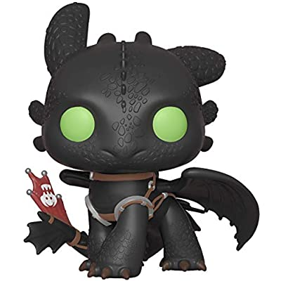Funko Pop! Movies: How to Train Your Dragon 3 - Toothless: Toys & Games