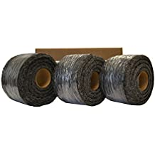 Xcluder Rodent Control Steel Wool Fill Fabric, 3 Rolls by Xcluder