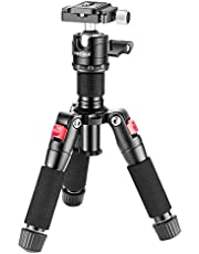 Neewer Portable Desktop Mini Tripod - Aluminum Alloy 20 inches/ 50 Centimeters with 360 Degree Ball Head, 1/4 inch Quick Shoe Plate for DSLR Camera Video Camcorder, Load up to 11 pounds/5 kilograms