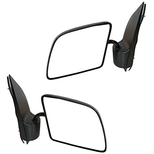 Koolzap For 92-07 Ford E-Series Econoline Van Manual Folding Mirror Left Right Side SET PAIR