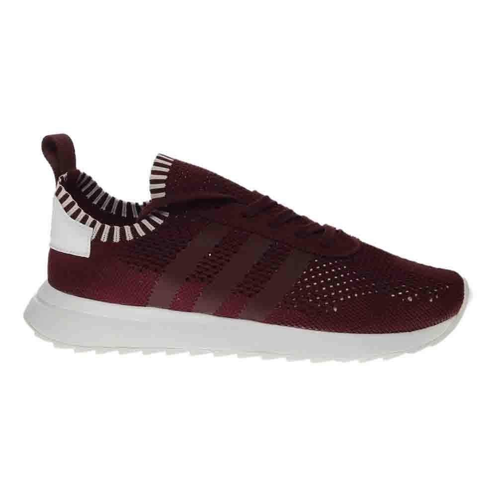 21eb00f676b4 adidas Women Flashback Primeknit FLB (Burgundy Maroon Footwear White ...