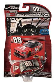 2017 NASCAR Authentics Wave 10 Dale Earnhardt JR #88 Last Ride Axalta Homestead Race Paint Scheme 1/64 Scale Diecast With Bonus Collector Card (Nascar Diecast Paint)