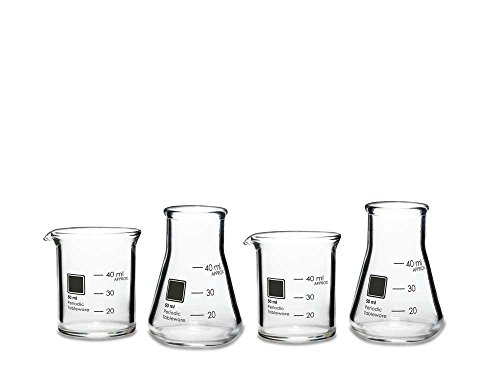 Periodic Tableware Laboratory Shot Glasses by Periodic Tableware