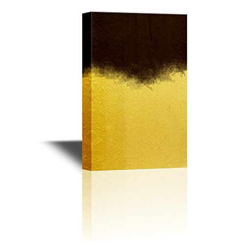 Color Composition Artwork with Black and Gold Gallery