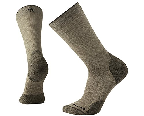Smartwool PhD Outdoor Light Crew Socks, Large, Oatmeal