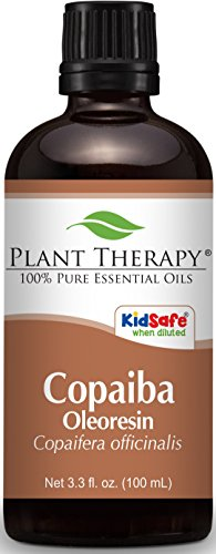 Plant Therapy Copaiba Oleoresin 100 mL (3.3 oz) 100% Pure, Undiluted, Therapeutic Grade