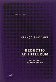Reductio Ad Hitlerum par François De Smet