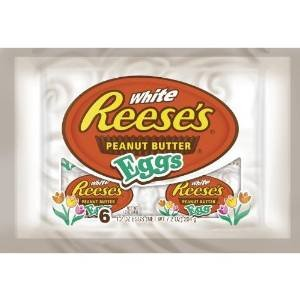 Reese's White Peanut Butter Eggs, 6-Count, 1.2-Ounce Package