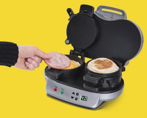040094254903 - Hamilton Beach 25490 Dual Breakfast Sandwich Maker carousel main 2