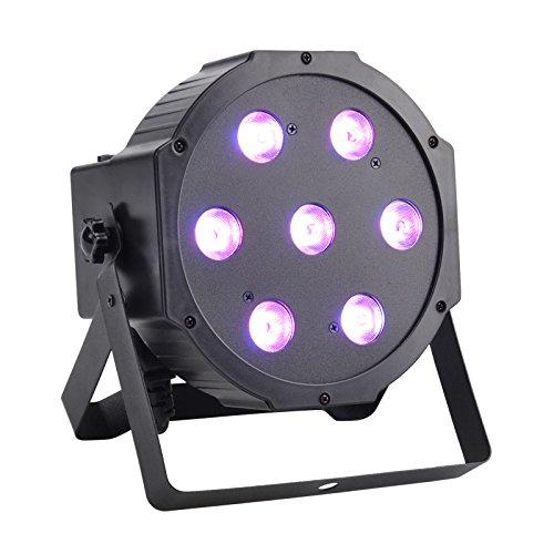 GBGS LED Up Lighting RGBW LED Par Lights 10W x 7 LED DMX 4-in-1 Par Can Stage Lighting Super Bright for Wedding DJ Event Party Show  sc 1 st  Amazon.com & Up Lights LED: Amazon.com azcodes.com