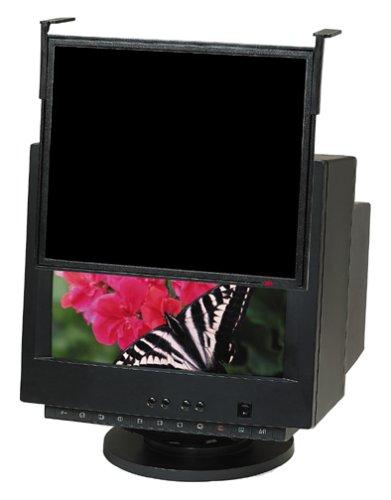 3M Black Framed Privacy Filter for Standard LCD/CRT Desktop Monitor fits 14