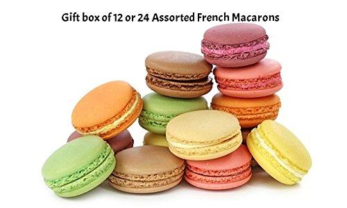 French Macarons - Assortment Gift Box (12 macarons)