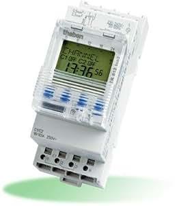 Timeguard TR612top2 - Temporizador digital, 2 canales, Modulo 16A