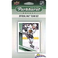 Chicago Blackhawks 2019/20 Upper Deck Parkhurst NHL Hockey EXCLUSIVE Limited Edition Factory Sealed 10 Card Team Set including Patrick Kane, Jonathan Toews, Alex DeBrincat & all the Top Stars & RC's!