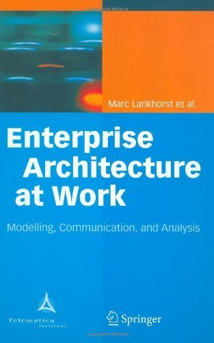 Download Enterprise Architecture at Work: Modelling, Communication and Analysis Pdf