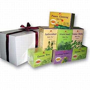 Amazon.com: Herbal Tea Gift Set - Under $40 - 7 Boxes: Health ...