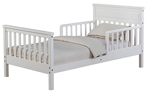 Angel Line Cameron Toddler Bed, White Finish