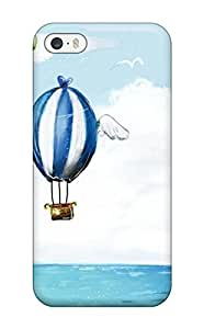 Premium Durable Balloons Air Cartoon Fashion Tpu Iphone 5/5s Protective Case Cover by icecream design