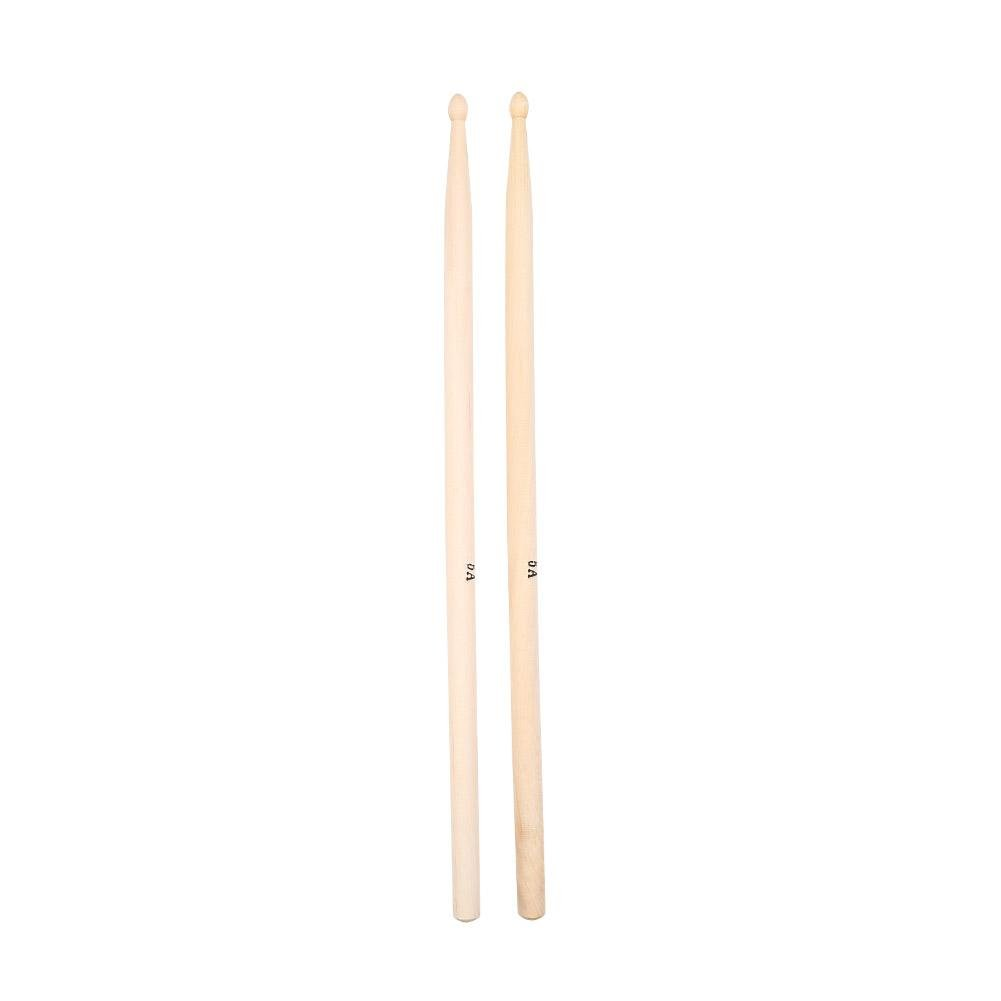 5A Drum Sticks, Maple Wood Drumsticks Practical Percussion Music Instrument Accessory (Red; ) Dilwe Dilweqwhop7nyzi-01