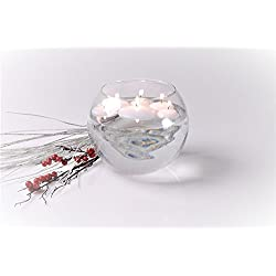 Higlow Bulk Floating Candles 2 Inc Unscented White