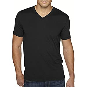 Next Level Apparel 6440 Mens Premium Fitted Sueded V-Neck Tee