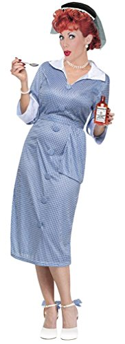 I Love Lucy Dress Costumes (I Love Lucy Costume - Womens Medium/Large 10-14)