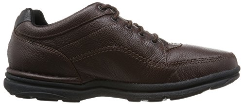 Rockport Men's World Tour Classic Lace Up Brown Tumble uh2tZf4kIC