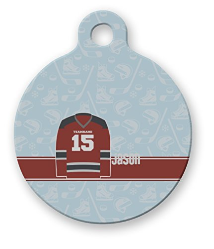 RNK Shops Hockey Round Pet Tag (Personalized)