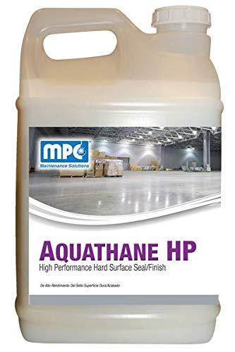 (Aquathane HP High Performance Hard Surface Seal/Finish, 2.5 Gallon, Case of 2)