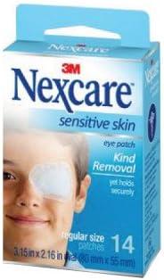 3M Nexcare Sensitive Skin Regular Eye Patch 14's- Treating Amblyopia (Lazy Eye) and Strabismus (Crossed Eyes)