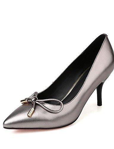 Tacón gray Zapatos Tacones uk6 cn39 Cuero eu35 Cono mujer us5 Oficina us8 Rojo de Puntiagudos eu39 cn34 uk6 uk3 us8 Trabajo eu39 cn39 Gris gray gray Casual GGX Tacones y dtxwqg4t