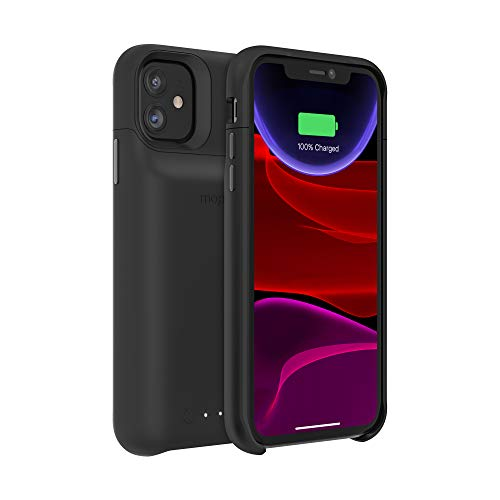 mophie 401004409 Juice Pack Access – Ultra-Slim Wireless Charging Battery Case – Made for Apple Iphone 11 – Black