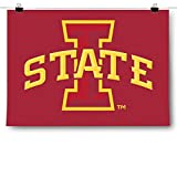 Inspired Posters Iowa State University Cyclones - NCAA Poster Size 18x24