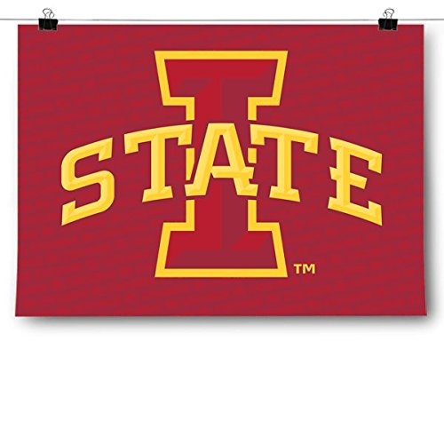 Inspired Posters Iowa State University Cyclones - Ncaa Poster