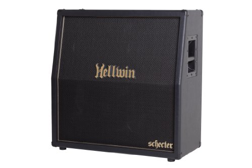 Synyster Gates Schecter Guitar (Schecter SYN412-SLE Synyster Gates Hellwin Stage Series 4x12 Slant Cab)