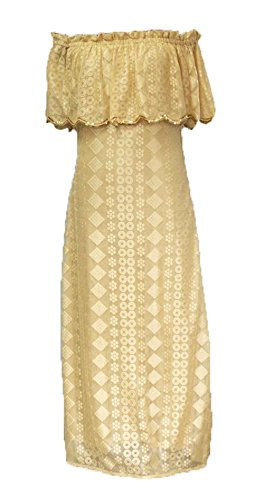 00f46526f704 JVN by Jovani Women's Embellished Gold Fitted Dress, White, 6