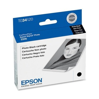 EPST034120 - Epson Photo Black Ink ()