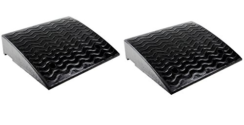 RK-RCR45 Loading Dock Rubber Curb Ramp (2-Pack)