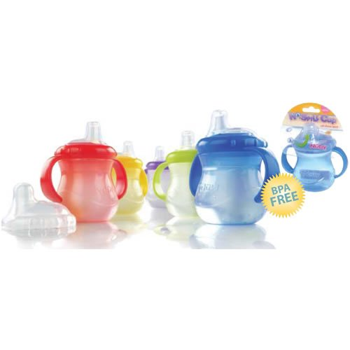 nuby sippy cup stage 1 - 2
