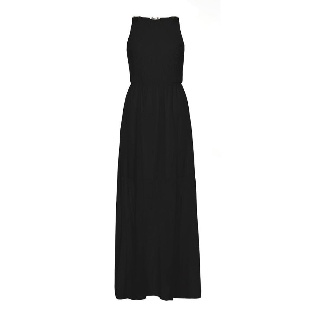 DAYLIN Womens Bohemia Formal Chiffon Sleeveless Prom Evening Evening Party Long Maxi Dress: Amazon.co.uk: Clothing